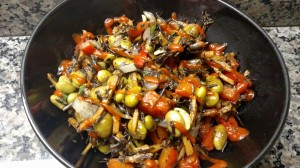 carrot seaweed medley