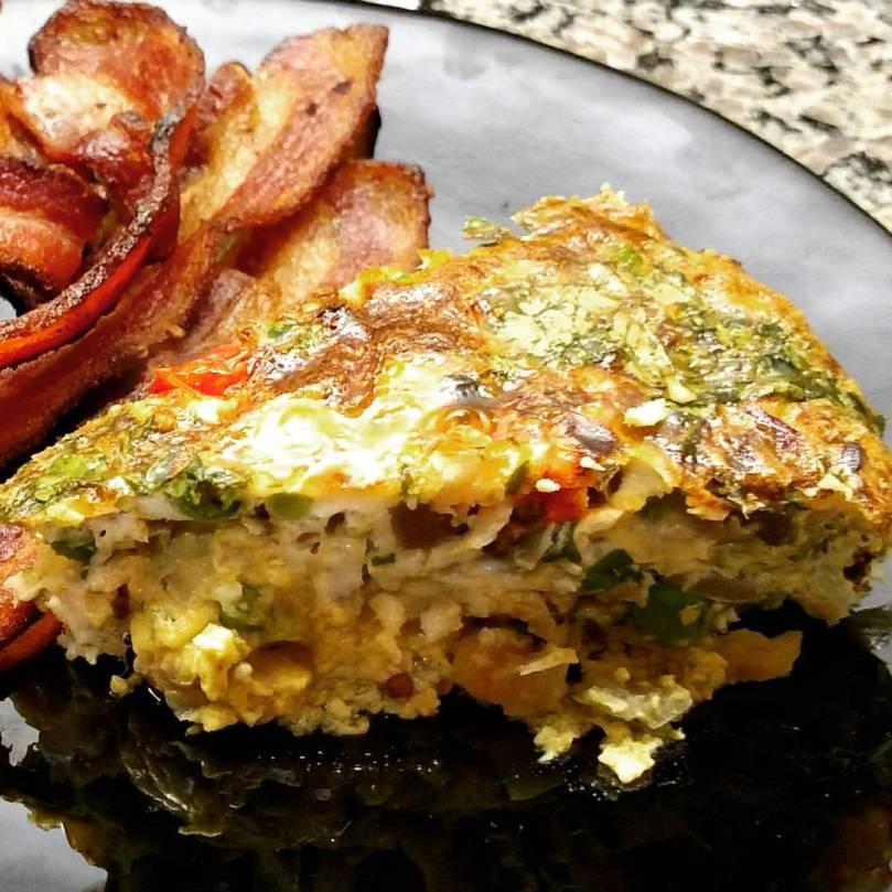 omelet-torte